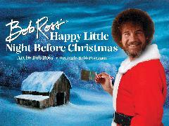 Cover-Bild zu Ross, Bob: Bob Ross' Happy Little Night Before Christmas