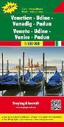 Cover-Bild zu Freytag-Berndt und Artaria KG (Hrsg.): Venetien - Udine - Venedig - Padua, Autokarte 1:150.000, Top 10 Tips. 1:150'000