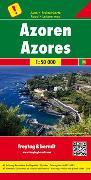 Cover-Bild zu Freytag-Berndt und Artaria KG (Hrsg.): Azoren, Autokarte 1:50.000. 1:50'000