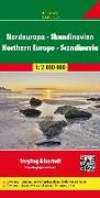 Cover-Bild zu Freytag-Berndt und Artaria KG (Hrsg.): Nordeuropa - Skandinavien, Straßenkarte 1:2 Mio. 1:2'000'000
