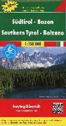 Cover-Bild zu Freytag-Berndt und Artaria KG (Hrsg.): Südtirol - Bozen, Autokarte 1:150.000, Top 10 Tips. 1:150'000