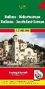 Cover-Bild zu Freytag-Berndt und Artaria KG (Hrsg.): Balkan - Südosteuropa, Autokarte 1:2.Mio. 1:2'000'000