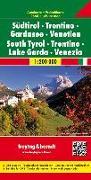 Cover-Bild zu Freytag-Berndt und Artaria KG (Hrsg.): Südtirol - Trentino - Gardasee - Venetien, Autokarte 1:200.000. 1:200'000