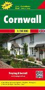 Cover-Bild zu Freytag-Berndt und Artaria KG (Hrsg.): Cornwall, Autokarte 1:150.000, Top 10 Tips. 1:150'000