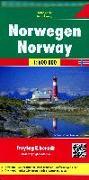 Cover-Bild zu Freytag-Berndt und Artaria KG (Hrsg.): Norwegen, Autokarte 1:600.000. 1:600'000