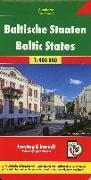 Cover-Bild zu Freytag-Berndt und Artaria KG (Hrsg.): Baltische Staaten, Autokarte 1:400.000. 1:400'000