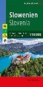 Cover-Bild zu Freytag-Berndt und Artaria KG (Hrsg.): Slowenien, Autokarte 1:150.000, Top 10 Tips. 1:150'000