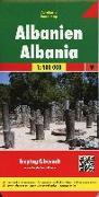 Cover-Bild zu Freytag-Berndt und Artaria KG (Hrsg.): Albanien, Autokarte 1:400.000. 1:400'000