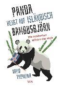 """Cover-Bild zu Tripolina, David: """"Panda"""" heißt auf Isländisch """"Bambusbjörn"""" (eBook)"""