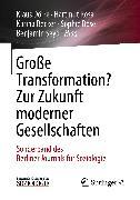 Cover-Bild zu Dörre, Klaus (Hrsg.): Große Transformation? Zur Zukunft moderner Gesellschaften (eBook)