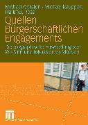 Cover-Bild zu Rosa, Hartmut: Quellen Bürgerschaftlichen Engagements (eBook)