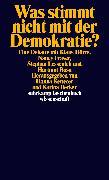 Cover-Bild zu Dörre, Klaus: Was stimmt nicht mit der Demokratie? (eBook)