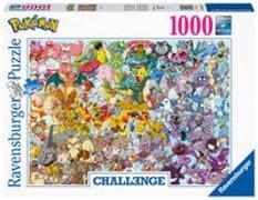 Cover-Bild zu Ravensburger Puzzle 1000 Teile, Challenge Pokémon - Alle 150 Pokémon der 1. Generation als herausforderndes Puzzle für Erwachsene und Kinder ab 14 Jahren