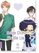 Cover-Bild zu Keine Cheats für die Liebe 08 mit Figur von Fujita