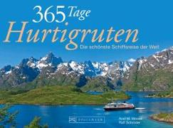Cover-Bild zu 365 Tage Hurtigruten von Schröder, Ralf