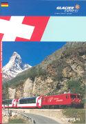 Cover-Bild zu Reiseführer deutsch - Glacier Express - St. Moritz / Davos - Zermatt