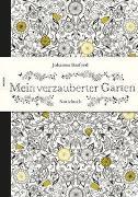 Cover-Bild zu Mein verzauberter Garten - Notizbuch von Basford, Johanna