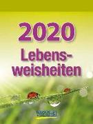 Cover-Bild zu Lebensweisheiten 2020 von Korsch Verlag (Hrsg.)