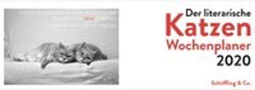 Cover-Bild zu Der literarische Katzen Wochenplaner 2020 von Bachstein, Julia (Hrsg.)