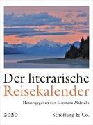 Cover-Bild zu Der literarische Reisekalender 2020 von Maletzke, Elsemarie (Hrsg.)