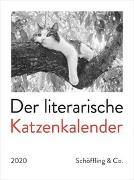 Cover-Bild zu Der literarische Katzenkalender 2020 von Bachstein, Julia (Hrsg.)