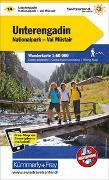 Cover-Bild zu Unterengadin Wanderkarte Nr. 14. 1:60'000 von Hallwag Kümmerly+Frey AG (Hrsg.)