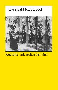 Cover-Bild zu Bronfen, Elisabeth (Hrsg.): Stilepochen des Films. Classical Hollywood (eBook)