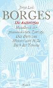Cover-Bild zu Bd. 10: Gesammelte Werke in zwölf Bänden. Band 10: Die Anthologien - Gesammelte Werke in 12 Bänden von Borges, Jorge Luis