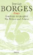 Cover-Bild zu Gesammelte Werke in zwölf Bänden. Band 2: Der Essays zweiter Teil (eBook) von Borges, Jorge Luis