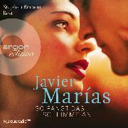 Cover-Bild zu Marías, Javier: So fängt das Schlimme an (Audio Download)