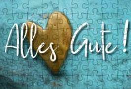 Cover-Bild zu Puzzle-Postkarte Alles Gute von Gmeiner-Verlag (Hrsg.)