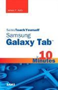 Cover-Bild zu Sams Teach Yourself Samsung GALAXY Tab in 10 Minutes (eBook) von Kelly, James Floyd