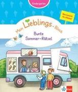 Cover-Bild zu Klett Mein Lieblings-Block Bunte Sommer-Rätsel von Vorbach, Britta (Hrsg.)