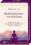 Cover-Bild zu Schirner, Markus: Meditationstechniken- Wege zu innerer Ruhe, Ausgeglichenheit, Selbsterkenntnis, Reflexion und Resilienz