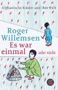 Cover-Bild zu Willemsen, Roger: Es war einmal oder nicht