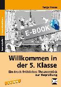 Cover-Bild zu Willkommen in der 5. Klasse (eBook) von Haase, Tanja