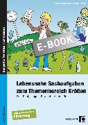 Cover-Bild zu Lebensnahe Sachaufgaben zum Themenbereich Größen (eBook) von Barkhausen, Christina