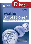 Cover-Bild zu Mathe an Stationen Umgang mit Geodreieck (eBook) von Bettner, Marco