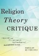 Cover-Bild zu Religion, Theory, Critique (eBook) von King, Richard (Hrsg.)