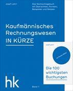 Cover-Bild zu Kaufmännisches Rechnungswesen 01. In Kürze von Lohri, Josef