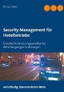 Cover-Bild zu Security Management für Hotelbetriebe von Horn, Florian