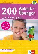 Cover-Bild zu Klett 200 Aufsatz-Übungen wie in der Schule (eBook) von Lassert, Ursula