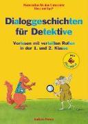 Cover-Bild zu Dialoggeschichten für Detektive / Silbenhilfe von Peters, Barbara