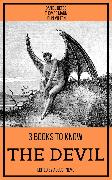 Cover-Bild zu 3 books to know The Devil (eBook) von Mann, Thomas