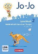 Cover-Bild zu Jo-Jo Sprachbuch, Allgemeine Ausgabe - Neubearbeitung 2016, 2. Schuljahr, Arbeitsheft in Grundschrift, Mit interaktiven Übungen auf scook.de und CD-ROM von Brunold, Frido