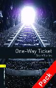 Cover-Bild zu Oxford Bookworms Library: Level 1:: One-Way Ticket - Short Stories audio CD pack von Bassett, Jennifer