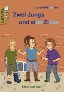 Cover-Bild zu Zwei Jungs und eine Zicke / Level 1. Schulausgabe von Holthausen, Luise