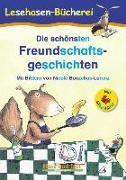 Cover-Bild zu Die schönsten Freundschaftsgeschichten / Silbenhilfe von Steinwart, Anne (Hrsg.)