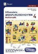 Cover-Bild zu Differenzierte Lesespurgeschichten Mathematik 4 von Blomann, Sandra