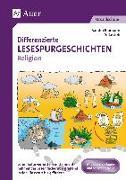 Cover-Bild zu Differenzierte Lesespurgeschichten Religion von Blomann, Sandra